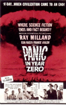 Panic in Year Zero 1962 DVD - Ray Milland / Jean Hagen
